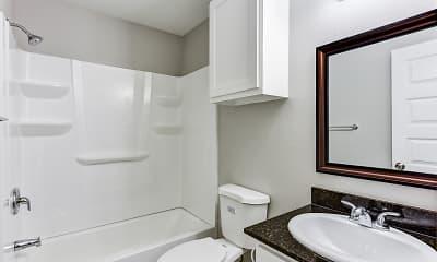 Bathroom, Bay Shore Apartments, 2