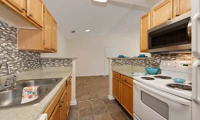 Kitchen, Forest Oaks Apartment Homes, 0