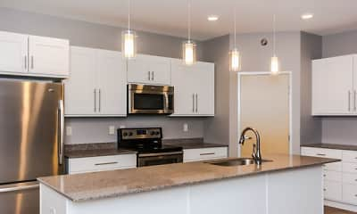 Kitchen, Sonoma Lofts, 1