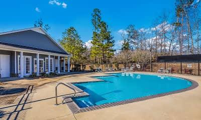 Pool, Piedmont Park Apartments, 2