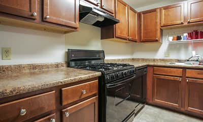 Kitchen, Canterbury Apartments, 0