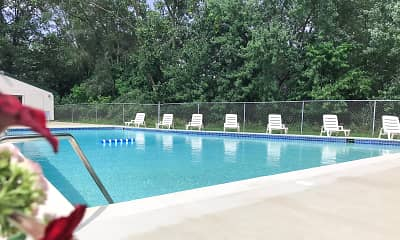 Pool, Cedar Creek Apartments, 0