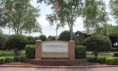 Community Signage, Clarewood, 2