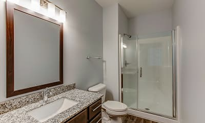 Bathroom, River Point West, 2