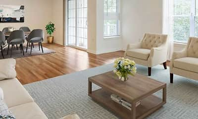 Living Room, Avalon at The Pinehills, 0
