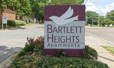 Community Signage, Bartlett Heights, 2