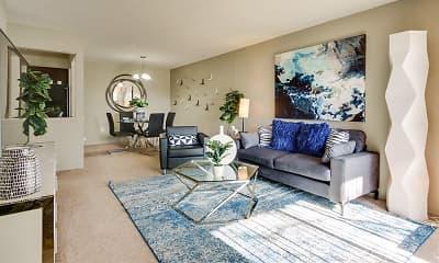 Living Room, Pavilion Court, 1