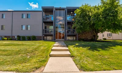 Building, River Ridge Apartments, 1