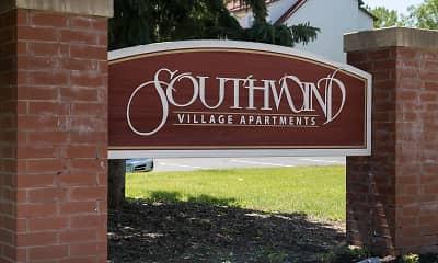 Community Signage, Southwind Village, 0