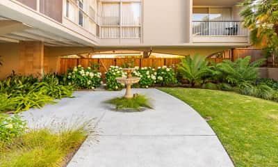 Landscaping, Royal Pines Apartments, 2