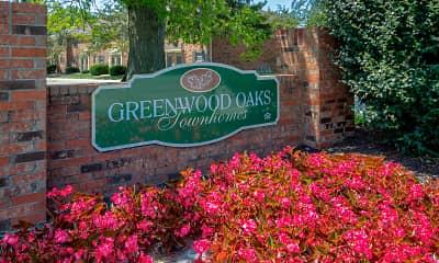Community Signage, Greenwood Oaks, 2