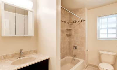 Bathroom, Evergreen Meadows Apartments, 2