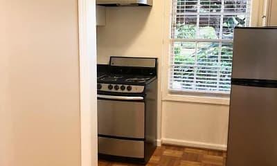 Kitchen, Bellevue Apartments, 2