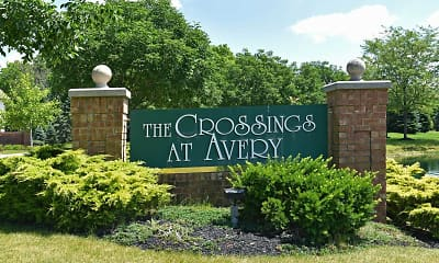 Community Signage, The Crossings At Avery, 2