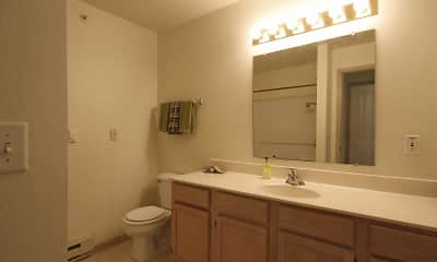 Bathroom, Silvernail Senior Community, 2