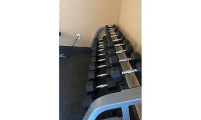 Fitness Weight Room, Stanley ND Apartments, 2