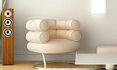 Living Room, Edanola Apts, 2