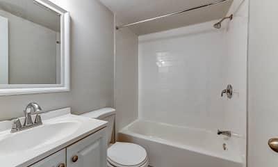 Bathroom, Sunrise Court, 2