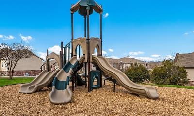 Playground, Cameron Park Apartments, 2