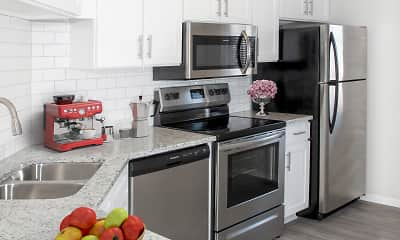 Kitchen, Southfork Townhomes and Flats, 0