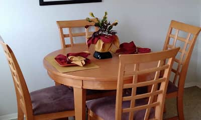 Dining Room, Walnut Bay Apartments, 0