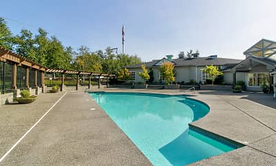 Pool, Olympic Village, 1