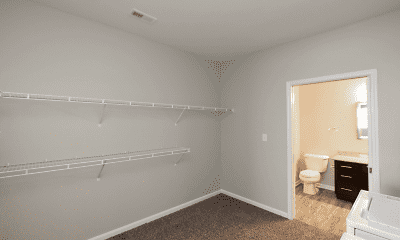 Bedroom, The Woods Apartments, 1