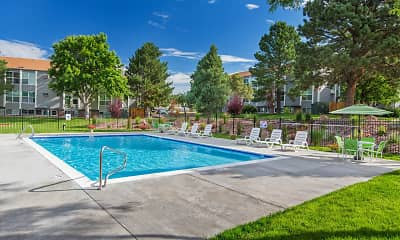 Pool, Montecito, 1