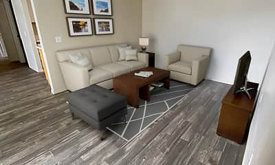Living Room, Haven Pointe Apartments, 1