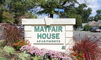 Community Signage, Mayfair House Apartments, 2