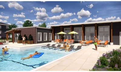 Pool, Lofts at Fox Ridge, 0