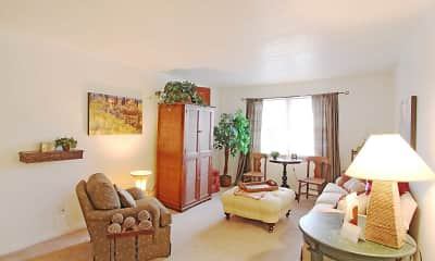 Living Room, Quail Bay Apartments, 1