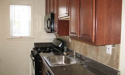 Kitchen, Yorkewood Apartments, 1