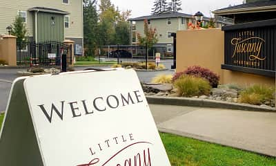 Community Signage, Little Tuscany Apartments, 2