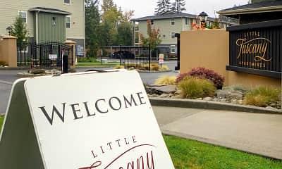 Community Signage, Little Tuscany Apartments, 2