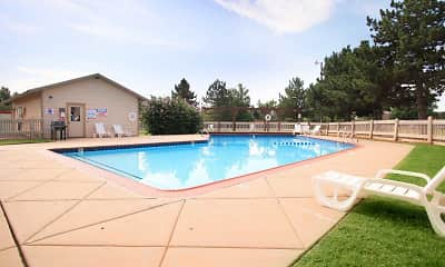 Pool, Eagle Crest Apartments, 1