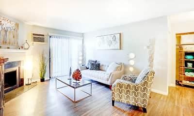 Living Room, Caden Apartments, 1