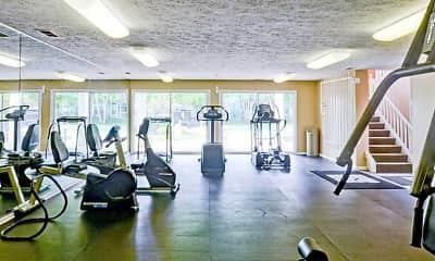 Fitness Weight Room, Island Club, 0