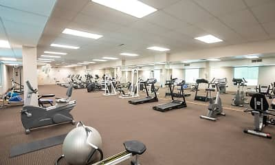 Fitness Weight Room, Powder Mill Heights, 1
