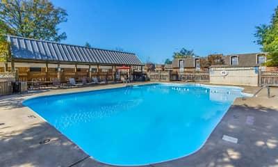 Pool, Oak Manor Apartment Homes, 1