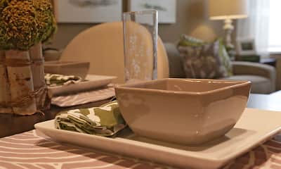 Dining Room, Oak Creek Apartments, 0