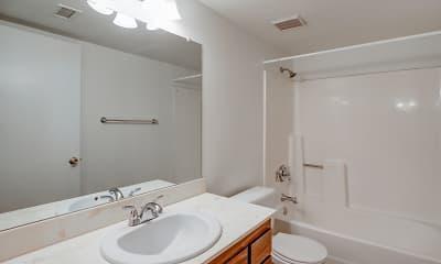 Bathroom, Quail Run Apartment Homes, 2