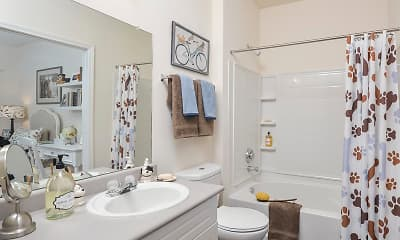 Bathroom, Walden Brook, 2