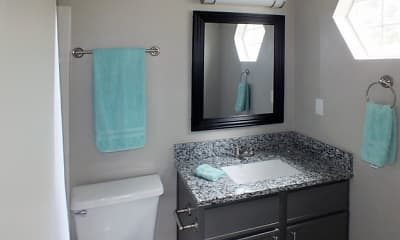 Bathroom, Viera Aiken Apartments, 2