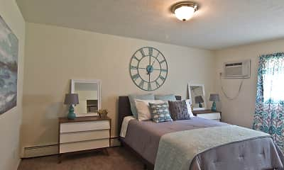 Bedroom, Lakeshore Drive Apartments, 2