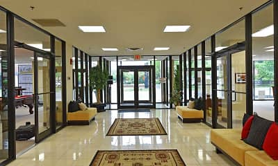 Foyer, Entryway, First Place Luxury Apartments, 0