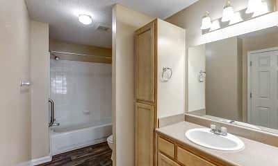 Bathroom, Columbia Colony Senior Residences, 2