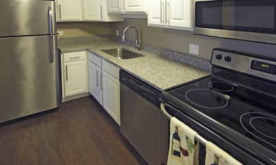 Kitchen, Bancroft Luxury Apartments, 1