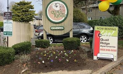 Community Signage, Quail Ridge, 2