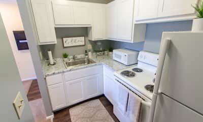 Kitchen, Romaine Court, 0